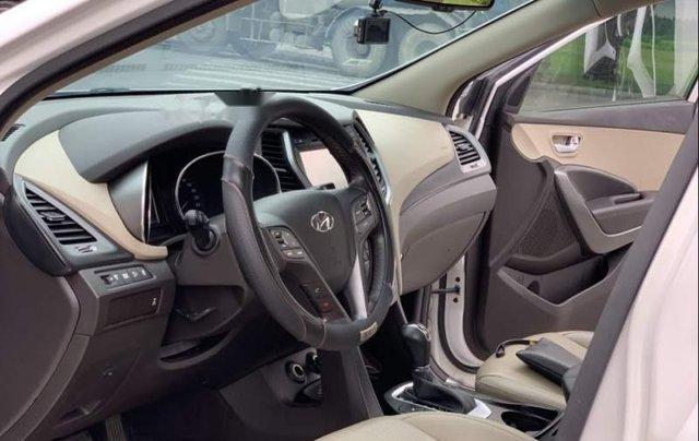 Bán Hyundai Santa Fe 2.4AT 2016, màu trắng, nhập khẩu nguyên chiếc như mới, giá tốt3