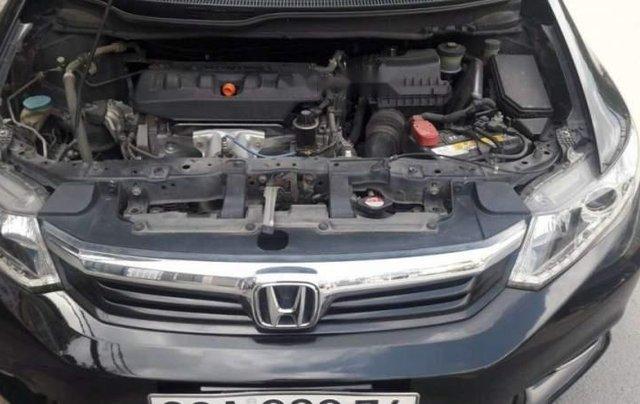Bán Honda Civic sản xuất năm 2013, màu đen, máy êm0