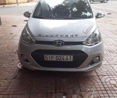Bán xe Hyundai Grand i10 sản xuất 2014, màu bạc, nhập khẩu  0
