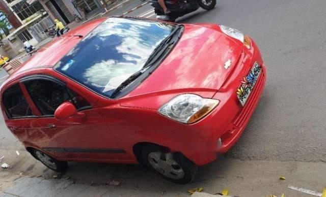 Bán Chevrolet Spark Van năm 2014, màu đỏ, xe gia đình còn rất mới0