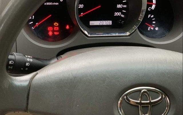 Bán xe Toyota Fortuner sản xuất năm 2010, màu xám số sàn3