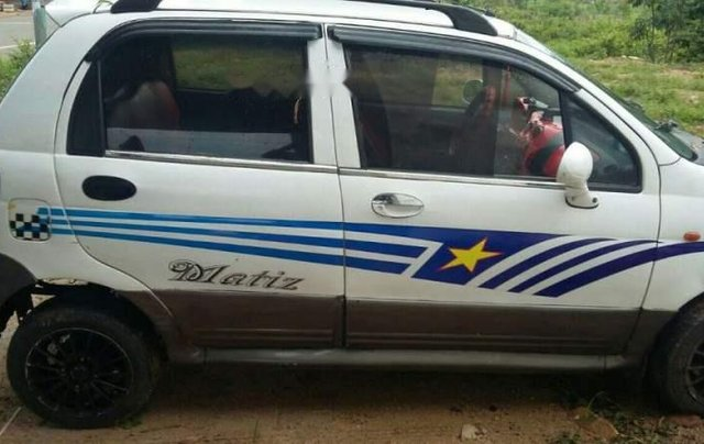 Bán Daewoo Matiz năm sản xuất 2003, màu trắng, xe đẹp