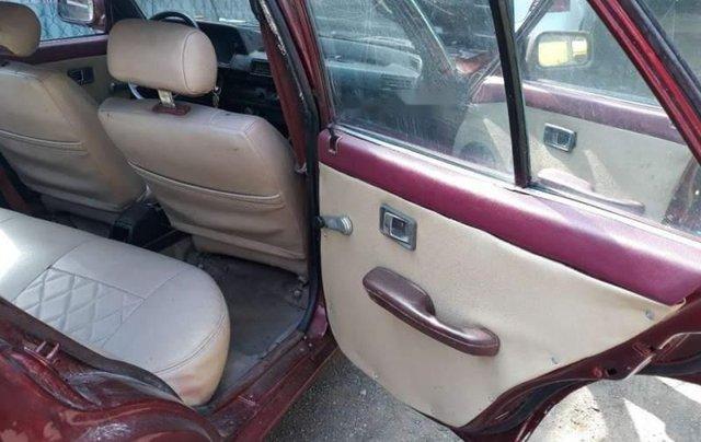 Bán Honda Accord đời 1985, màu đỏ, xe đẹp nguyên bản, đồng sơn chắc chắn5