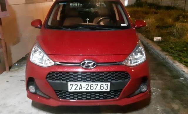 Bán Hyundai Grand i10 đời 2018, màu đỏ như mới, 383tr0