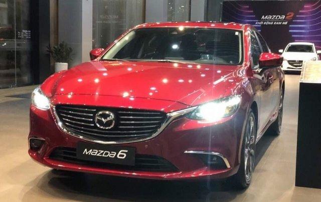 Bán Mazda 6 sản xuất 2019, màu đỏ, giá 819tr0