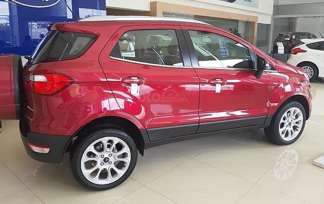 Bán Ford EcoSport Titanium 1.5L AT đời 2018, màu đỏ, giá tốt1