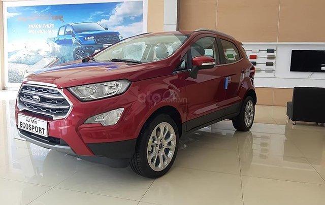 Bán Ford EcoSport Titanium 1.5L AT đời 2018, màu đỏ, giá tốt0