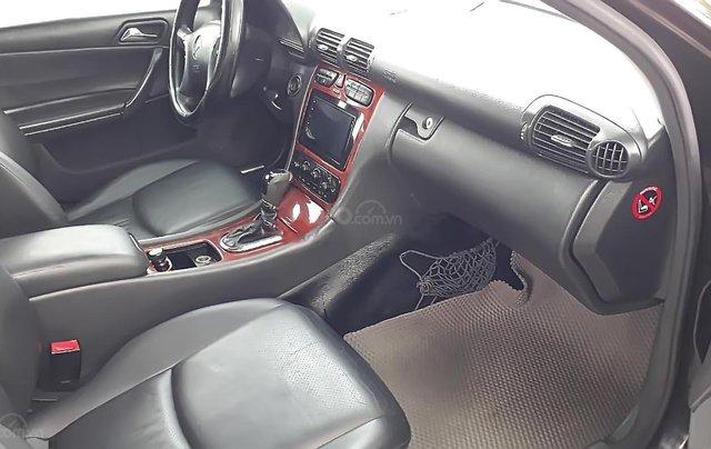 Bán Mercedes C180 AT đời 2003, màu đen, chính chủ 2
