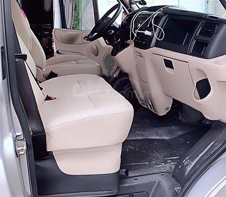 Bán xe Ford Transit Luxury đời 2016, màu bạc4