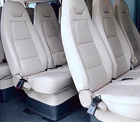 Bán xe Ford Transit Luxury đời 2016, màu bạc1