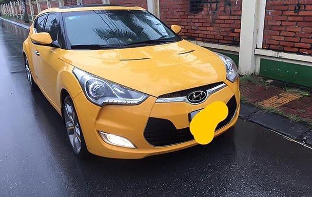 Bán Hyundai Veloster sản xuất 2011, màu vàng, nhập khẩu0
