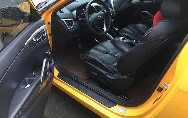 Bán Hyundai Veloster sản xuất 2011, màu vàng, nhập khẩu1