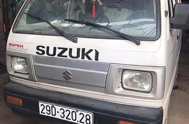 Bán Suzuki Super Carry Van Blind Van đời 2009, màu trắng, số sàn 3