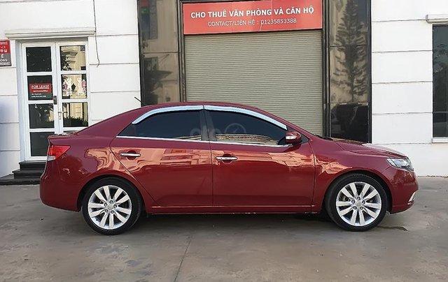 Bán Kia Cerato sản xuất năm 2010, màu đỏ, xe nhập0