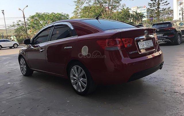 Bán Kia Cerato sản xuất năm 2010, màu đỏ, xe nhập2