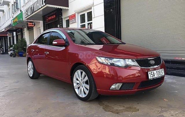 Bán Kia Cerato sản xuất năm 2010, màu đỏ, xe nhập3