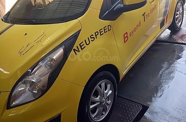 Bán Chevrolet Spark 2013, màu vàng, giá 170tr1