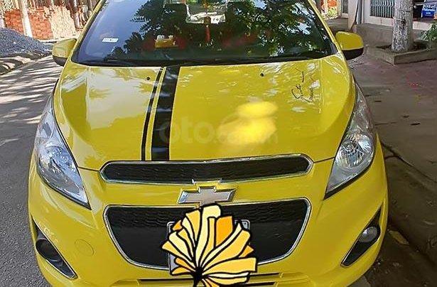 Bán Chevrolet Spark 2013, màu vàng, giá 170tr3