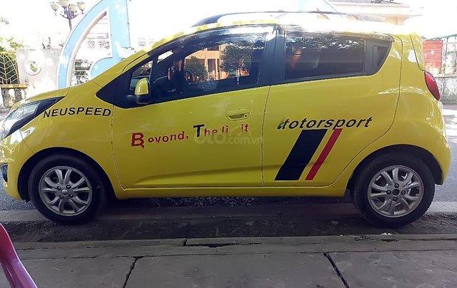 Bán Chevrolet Spark 2013, màu vàng, giá 170tr0