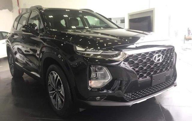 Bán ô tô Hyundai Santa Fe 2019, màu đen0