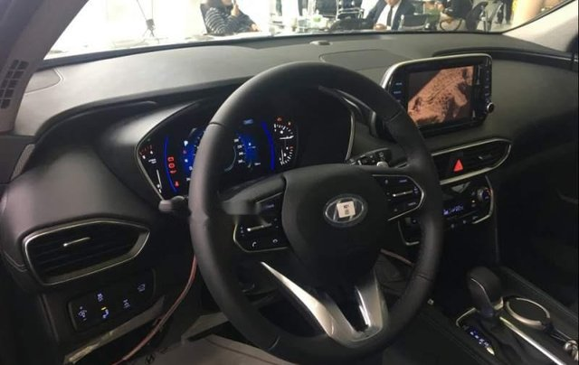 Bán ô tô Hyundai Santa Fe 2019, màu đen5