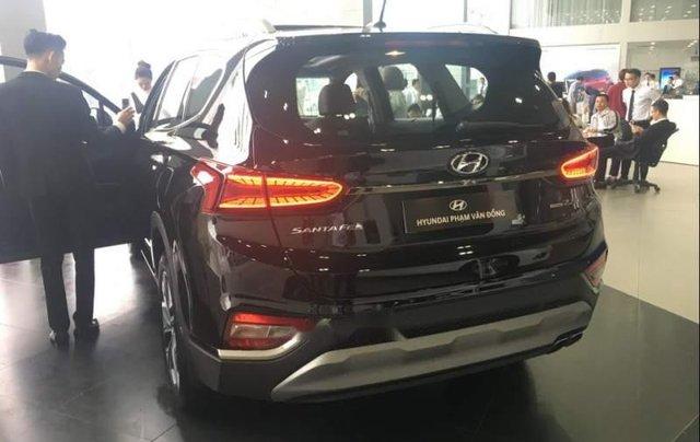 Bán ô tô Hyundai Santa Fe 2019, màu đen2