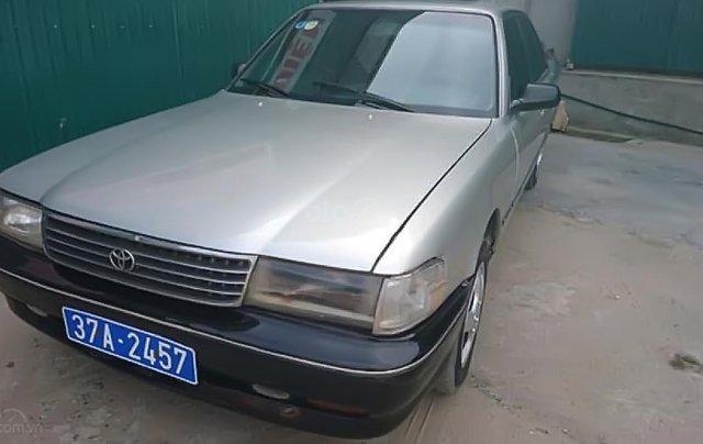 Bán Toyota Cressida 2.4 đời 1990, màu bạc, nhập khẩu0