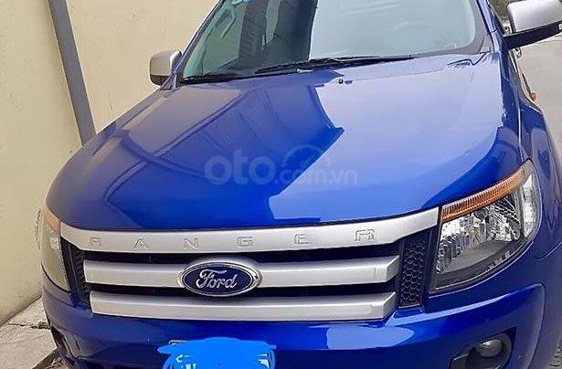 Bán Ford Ranger XLS 2.2L 4x2MT đời 2015, màu xanh lam, nhập khẩu  0