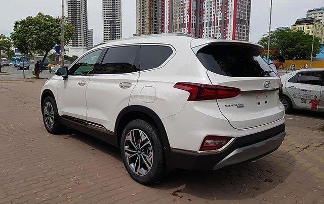 Bán Hyundai Santa Fe 2.4 premium 2019, màu trắng1
