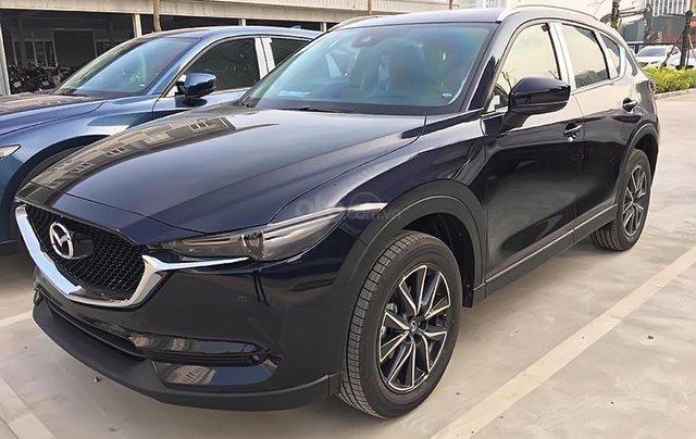 Bán Mazda CX 5 2.5 AT 2WD năm sản xuất 2018, màu xanh  0
