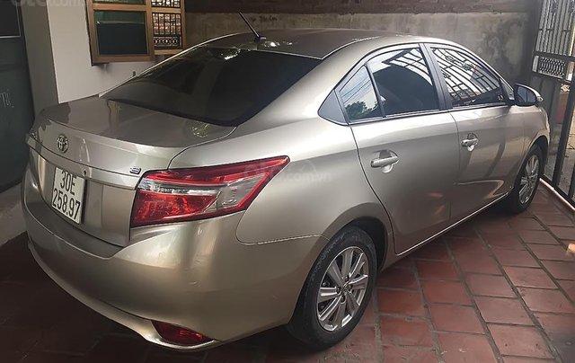 Bán Toyota Vios sản xuất 2016, màu vàng, giá 445tr0