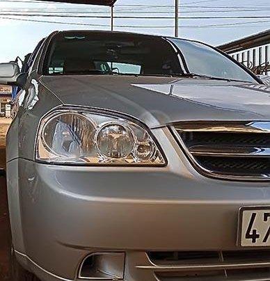 Bán Daewoo Lacetti sản xuất 2010, màu bạc, xe gia đình 0