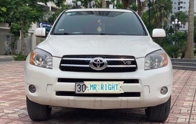 Cần bán xe Toyota RAV4 3.5AT đời 2008, màu trắng, nhập khẩu nguyên chiếc, giá chỉ 480 triệu6