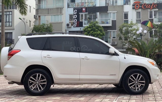 Cần bán xe Toyota RAV4 3.5AT đời 2008, màu trắng, nhập khẩu nguyên chiếc, giá chỉ 505 triệu8