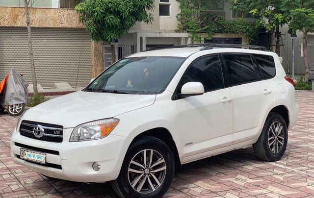 Cần bán xe Toyota RAV4 3.5AT đời 2008, màu trắng, nhập khẩu nguyên chiếc, giá chỉ 505 triệu5