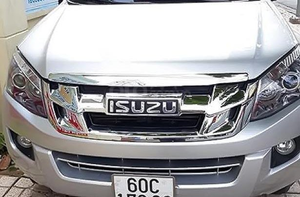Bán Isuzu Dmax LS 2.5 4x2 MT 2014, màu bạc, nhập khẩu 0