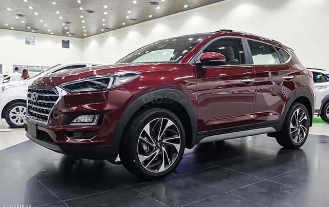 Bán Hyundai Tucson 1.6 AT Turbo sản xuất năm 2019, màu đỏ0