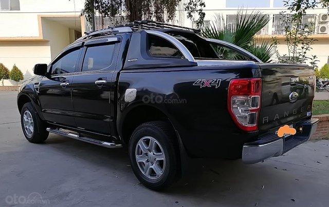 Bán Ford Ranger XLT 2.2 sản xuất 2014, màu đen, nhập khẩu 2