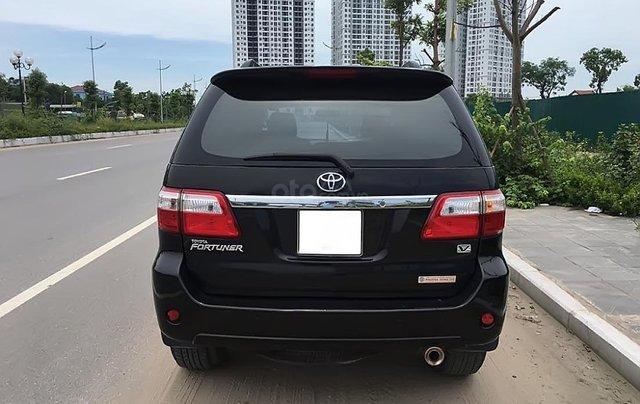 Bán Toyota Fortuner V 2009, màu đen, giá cạnh tranh4