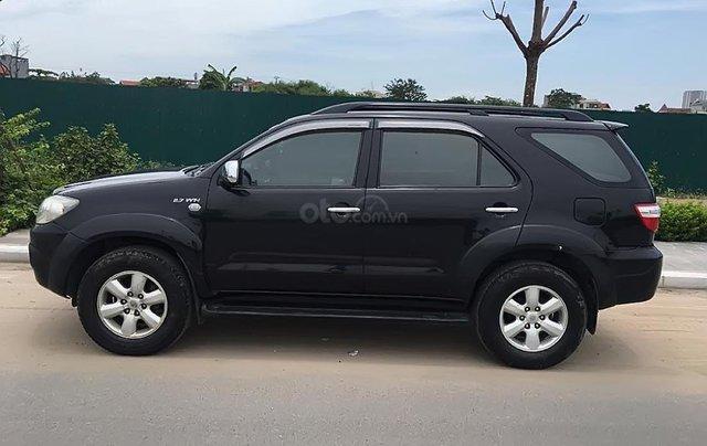 Bán Toyota Fortuner V 2009, màu đen, giá cạnh tranh3