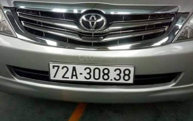 Bán xe cũ Toyota Innova 2.0 MT đời 2008, màu bạc0