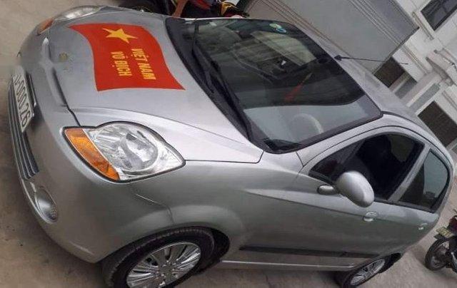 Cần bán lại xe Chevrolet Spark năm 2012, màu bạc5