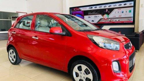 Bán ô tô Kia Morning 1.25L AT đời 2019, màu đỏ, giá chỉ 339 triệu1