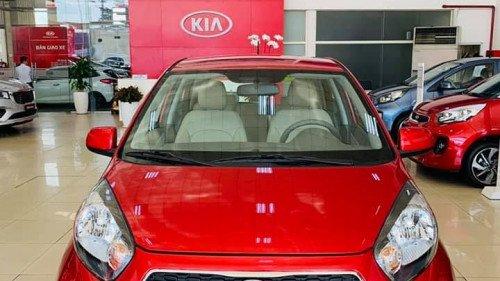Bán ô tô Kia Morning 1.25L AT đời 2019, màu đỏ, giá chỉ 339 triệu0