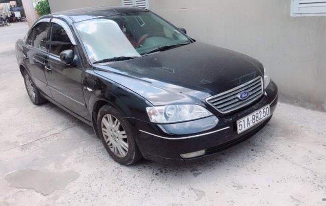 Cần bán xe Ford Mondeo đời 2004, màu đen, xe nhập1
