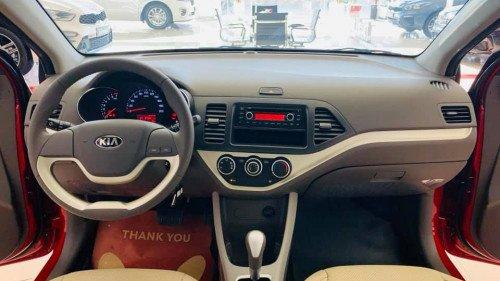 Bán ô tô Kia Morning 1.25L AT đời 2019, màu đỏ, giá chỉ 339 triệu3