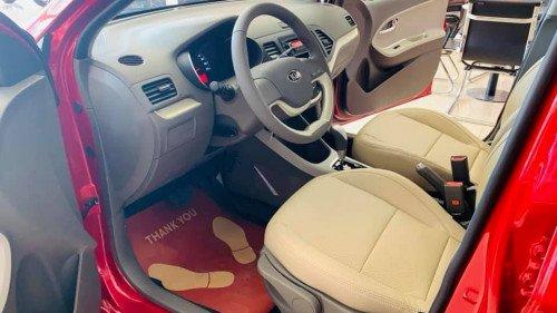 Bán ô tô Kia Morning 1.25L AT đời 2019, màu đỏ, giá chỉ 339 triệu4