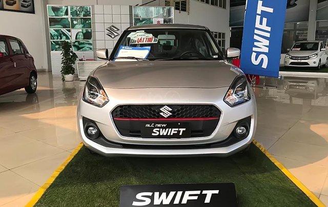 Bán Suzuki Swift GLX 1.2 AT đời 2019, màu bạc, nhập khẩu nguyên chiếc2