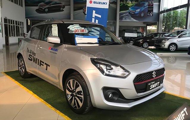 Bán Suzuki Swift GLX 1.2 AT đời 2019, màu bạc, nhập khẩu nguyên chiếc0