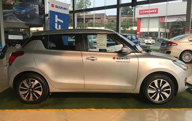 Bán Suzuki Swift GLX 1.2 AT đời 2019, màu bạc, nhập khẩu nguyên chiếc4